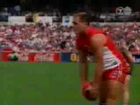 Tony Lockett Kicks His 1300th Goal At The SCG, Sydney
