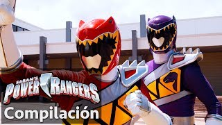 Power Rangers en Español | Rangers Dino Super Charge juntos!