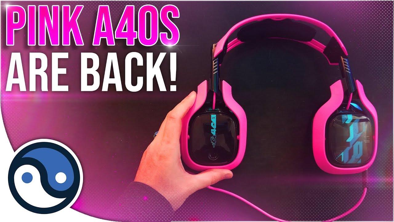 Les casques Pink Astro A40 sont de retour! + vidéo