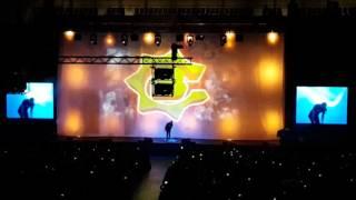 """Bülent Ceylan """"Kronk"""" FRA Fraport Arena 13.03.16 Intro"""