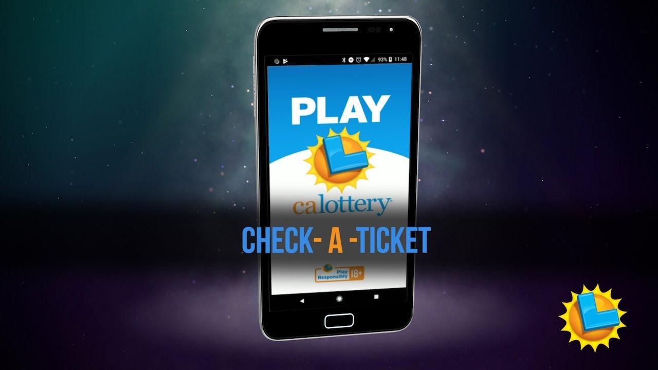 California Lottery Mobile App