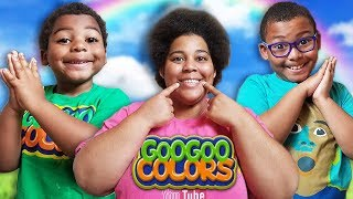 IF YOU'RE HAPPY AND YOU KNOW IT! KIDS SONGS FROM GOO GOO COLORS