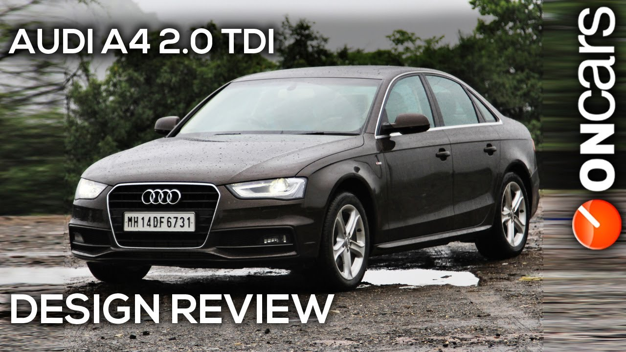 2013 Audi A4 20 Tdi B8 Facelift Design Review By Oncars India
