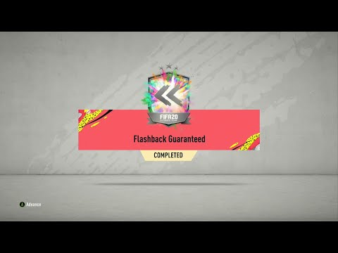 FLASHBACK GUARANTEED SBC COMPLETED FIFA 20 Ultimate Team