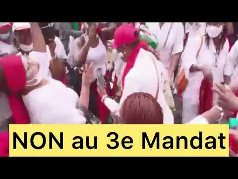 Marche continue: ça chauffe en France, Kodjo Rouge #1