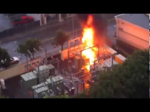 Explosión de Transformadores