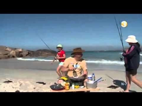 Samogitian pancakes on the Australian beach