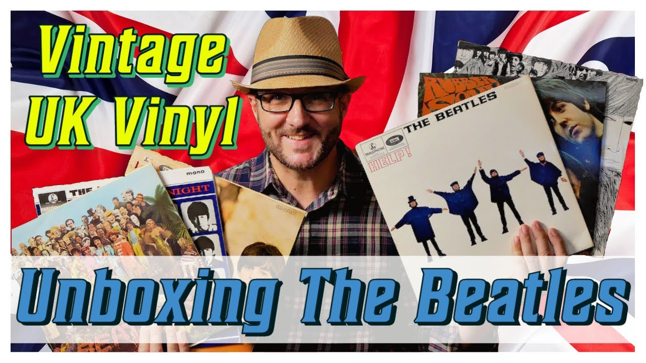 UNBOXING Vintage BEATLES UK LPs & 'Please, Please Me' GOLD STEREO!