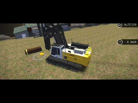 construction simulator 3                   Liebherr  LB 28 rotary drill           tutorial |