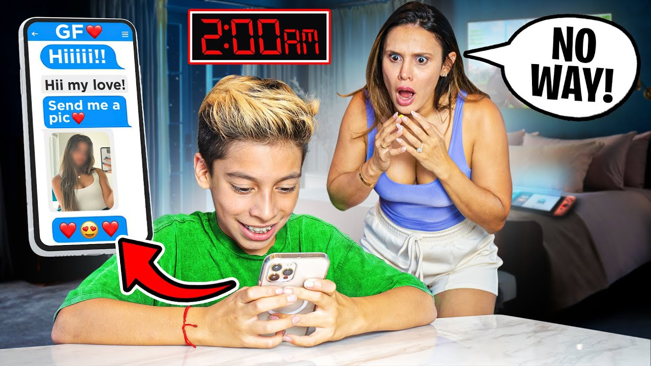 We CAUGHT our Son TEXTING a GIRL at 2am!! (SHOCKING) | The Royalty Family