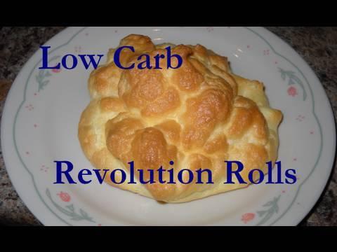 Atkins Diet Recipes:  Revolution Rolls (IF)