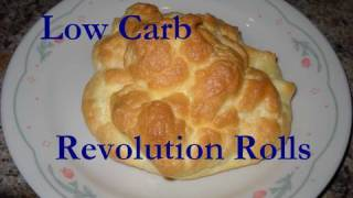 Atkins Diet Recipes:  Revolution Rolls (IF)