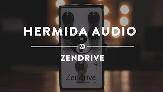 Hermida Audio Zendrive | Reverb Demo Video