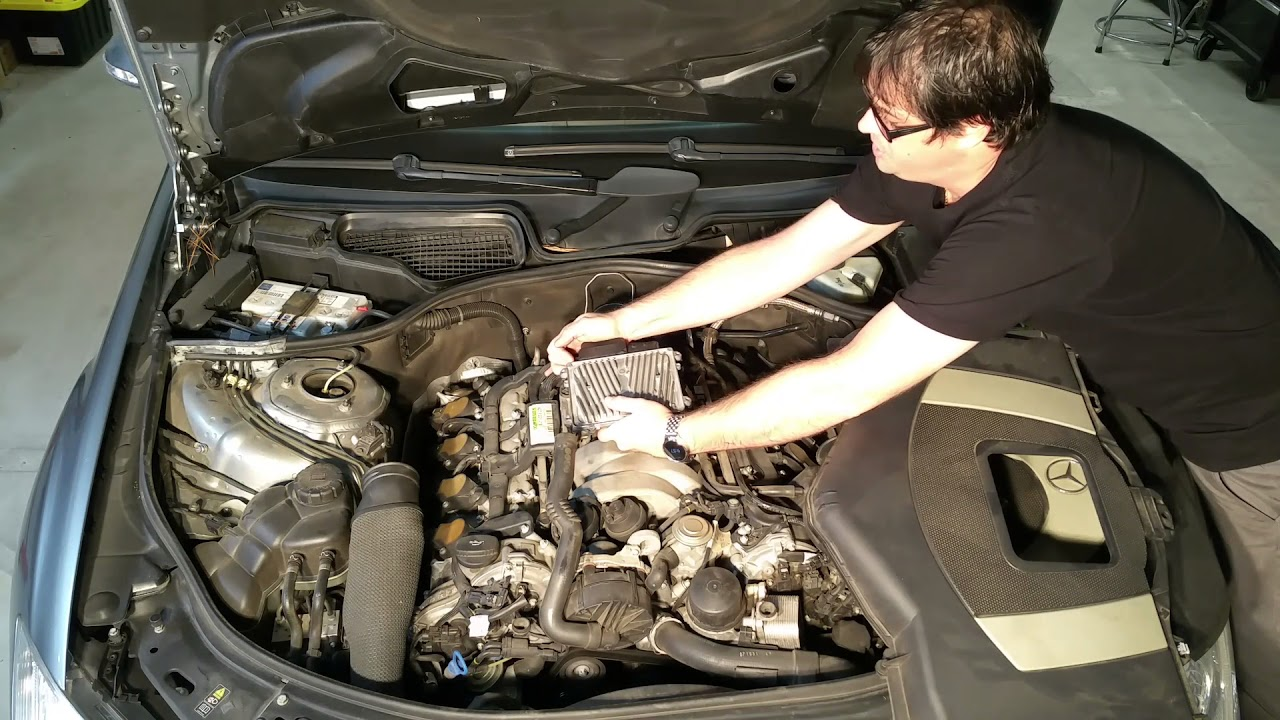 Installing ECU on M272 and M273 Engines