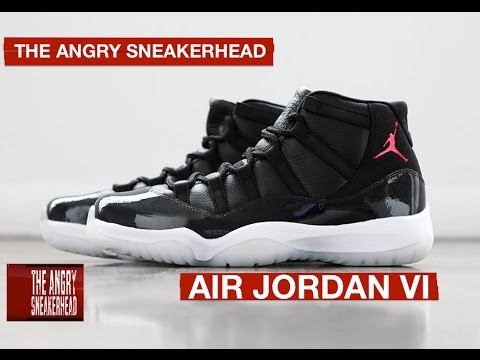 AIR JORDAN 11 HISTORY - The Angry SneakerHead ( Episode 11 )