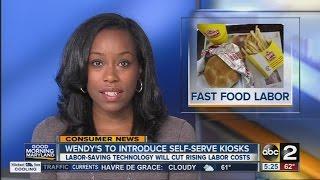 Wendy's to introduce self-serve kiosks
