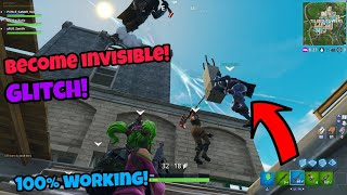 Fortnite Glitches Season 4 (New) Become invisible and God mode PS4/Xbox one 2018