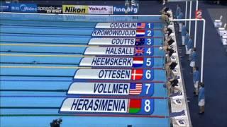 видео Александра Герасименя выиграла ЧМ в плавании на 100 м вольным стилем
