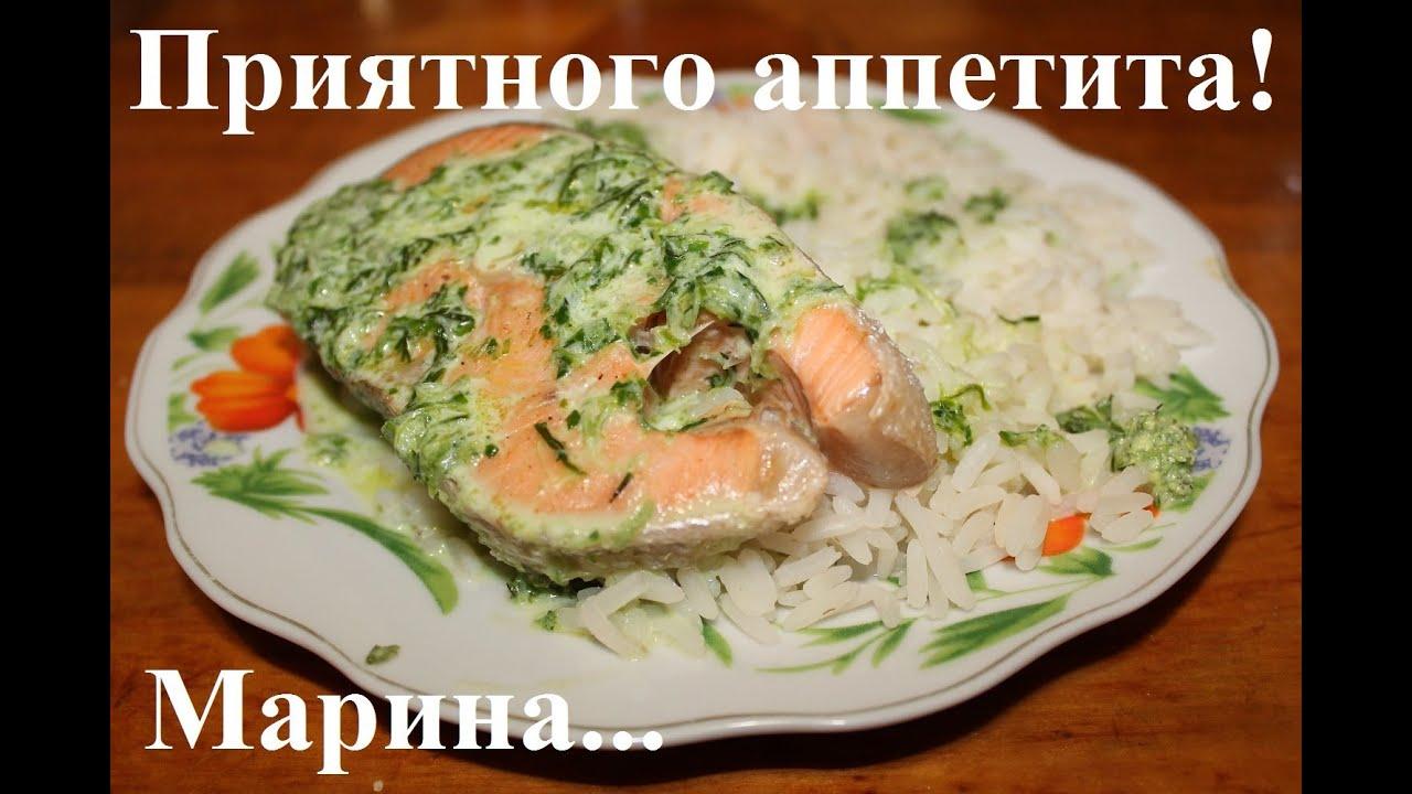 как приготовить вкусно красную рыбу на сковороде