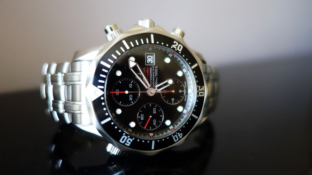 25ad51985cd8a Omega Seamaster Professional Diver 300m Chronograph 41.5mm - Perth ...