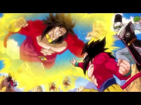 Dragon Ball Heroes JM7 Super Saiyan 4 Broly Opening [HD] streaming vf