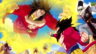 Dragon Ball Heroes JM7 Super Saiyan 4 Broly Opening [HD]