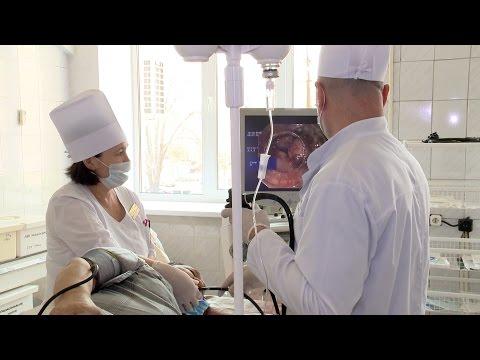 Новая операция на венах пищевода в ОКБ