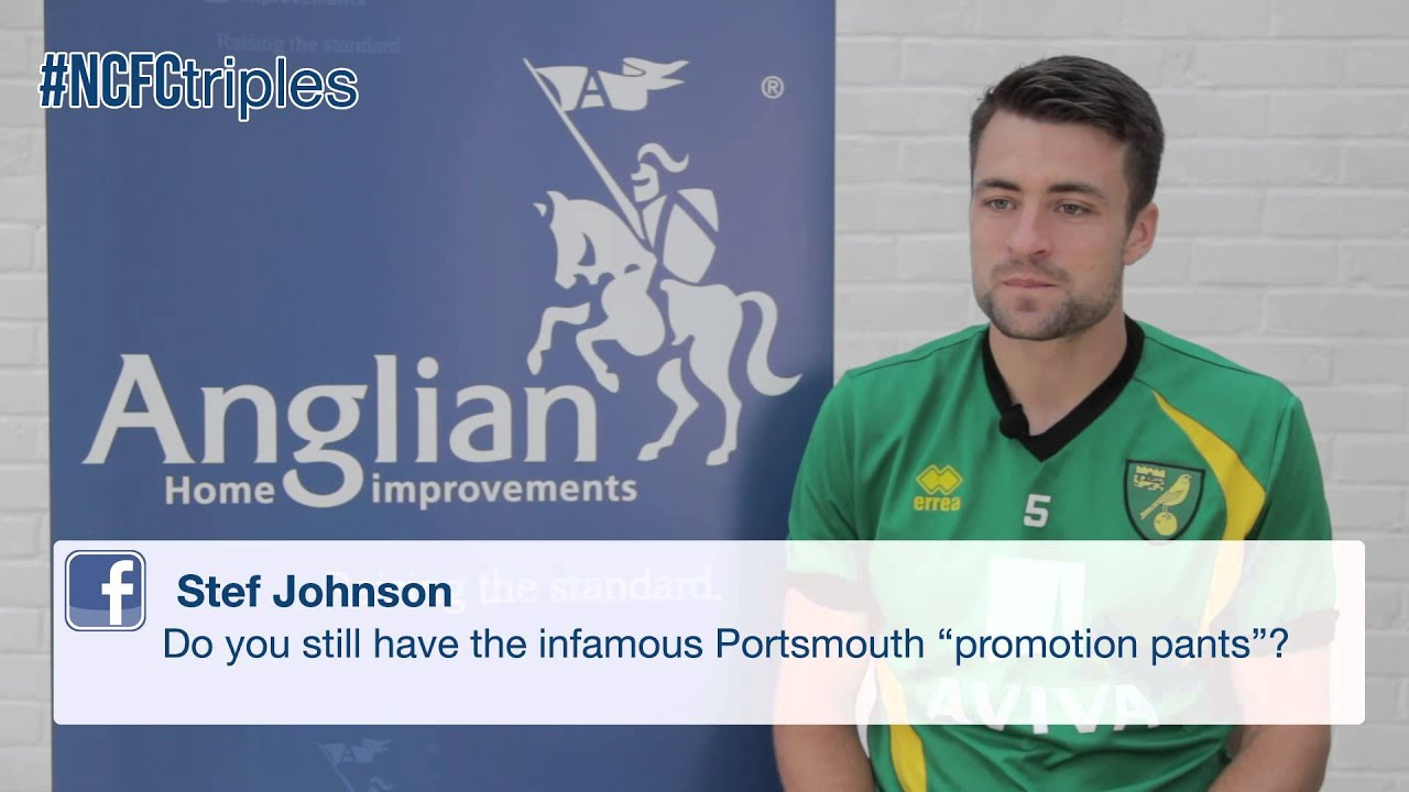 Ncfctriples Russell Martin Interview With Anglian Home Improvements Youtube