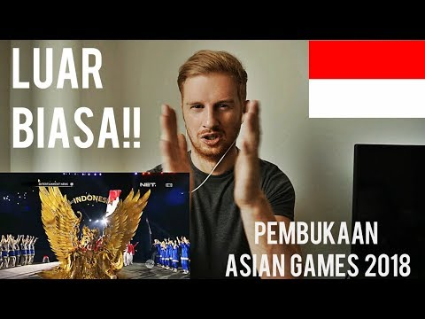 Image of PEMBUKAAN ASIAN GAMES 2018 JAKARTA (OPENING CEREMONY) // REACTION