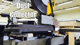 Dewalt DW872 Chop Saw Dust Collector + Chip Pan - Evolution - Harbor freight - NYCCNC