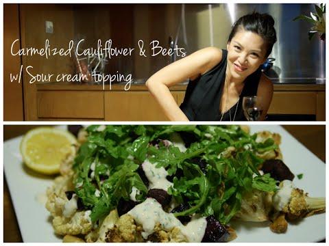 Caramelized Cauliflower AKA Best Side Ever I Debbie Wong's Wok and Gong