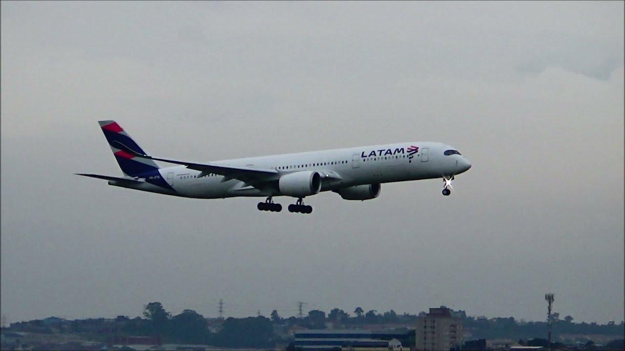 7 POUSOS DE GIGANTES NO AEROPORTO DE GUARULHOS | GRU-SBGR | , 767 , 777 , 787 , A340 E A350