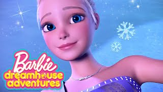 BARBIES FIGURE SKATE ROUTINE  | Barbie Dreamhouse Adventures | @Barbie