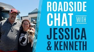 Roadside Chat with Jessica and Kenneth