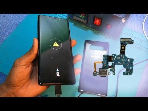 How to fix Samsung note 8 charging problem  ⚠️