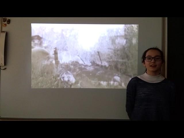 Изображение предпросмотра прочтения – ЛилияИсмаилова читает произведение «Соловьи» А.И.Фатьянова