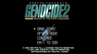 Genocide 2 (ジェノサイド2) DOS Soundtrack