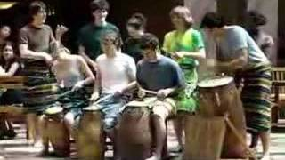 Ghana Drums at Cornell University