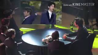 Exo reaction to Astro performance in AAA 2017 crazy sexy cool