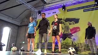 Laura Dekker is the FIRST DUTCH FEMALE European Freestyle Football Champion