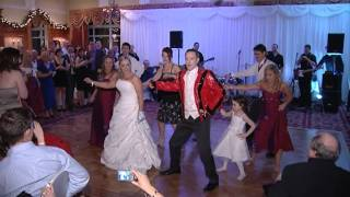 Surprise Thriller Wedding Dance- Melissa and Mark