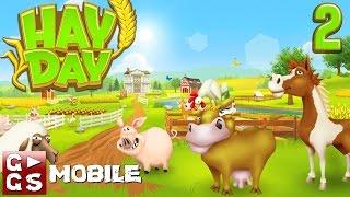 Hay Day #2 Day 2 Report Der kultige Farm Manager - macht Laune! G►GS Mobile deutsch HD