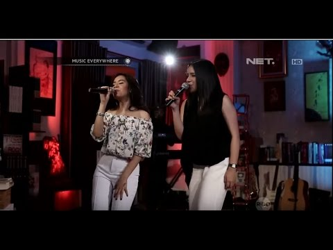 Priskila Shafia & Angel Pieters - Buaya Darat ( Duo Maia Cover) (Live at Music Everywhere) *