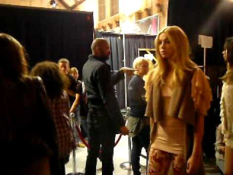 Backstage action before the Supertrash show @ AIFW 2010