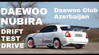 Daewoo Nubira, drift, test drive...