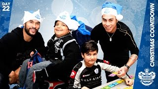 Qpr Spread Festive Cheer In West London