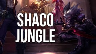 League of Legends - Wild Card Shaco Jungle - Full Game Commentary