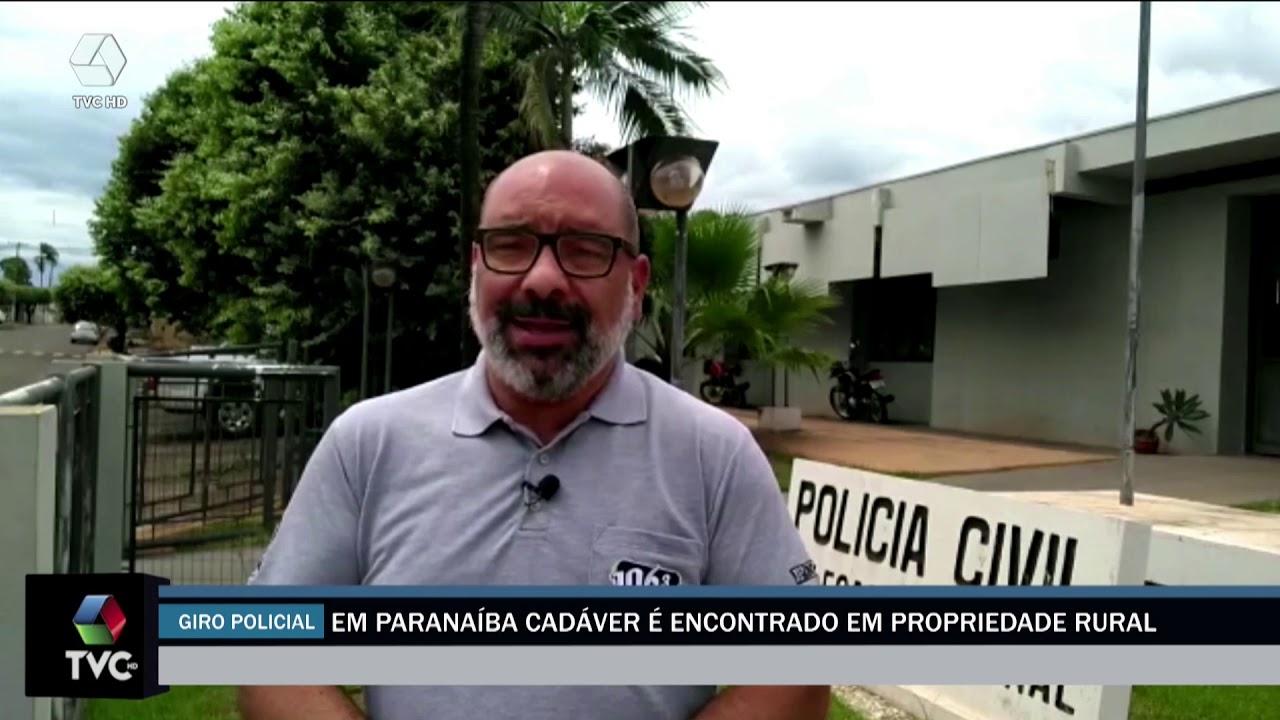 Cadáver é encontrado em área rural de Paranaíba