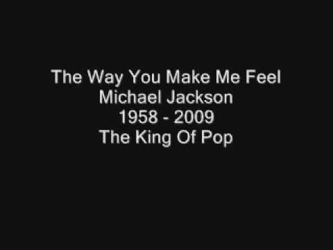 The Way You Make Me Feel - Michael Jackson (HQ Sound + Lyrics)
