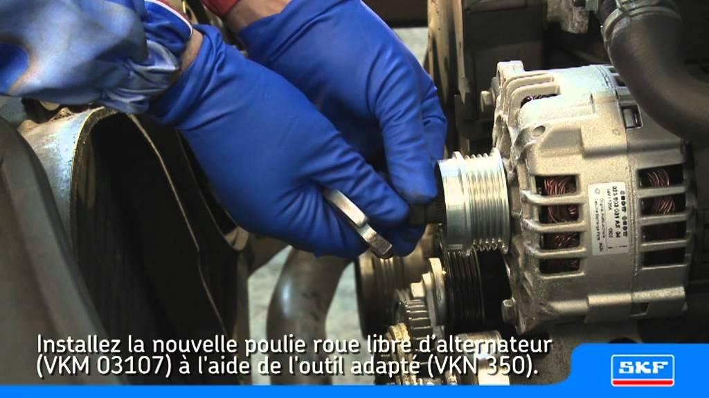 SKF Poulie roue libre d'alternateur VKM 03107 Volkswagen
